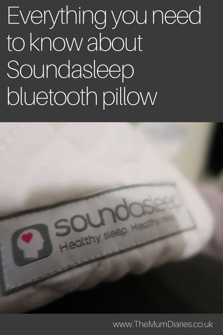 Everything you need to know about Soundasleep Bluetooth Pillow!