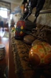 Eggs amongst other treasures