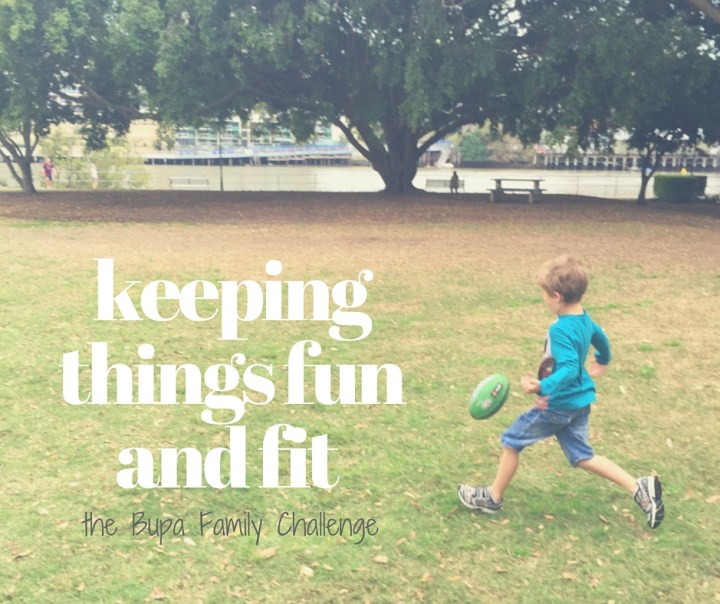 keeping things fun and fit