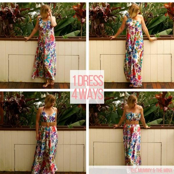1 Dress 4 Ways
