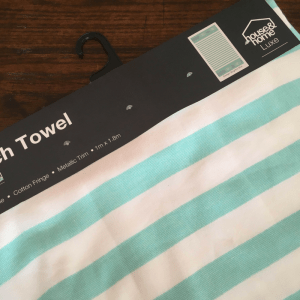 Beach Towel for Beach Jacket