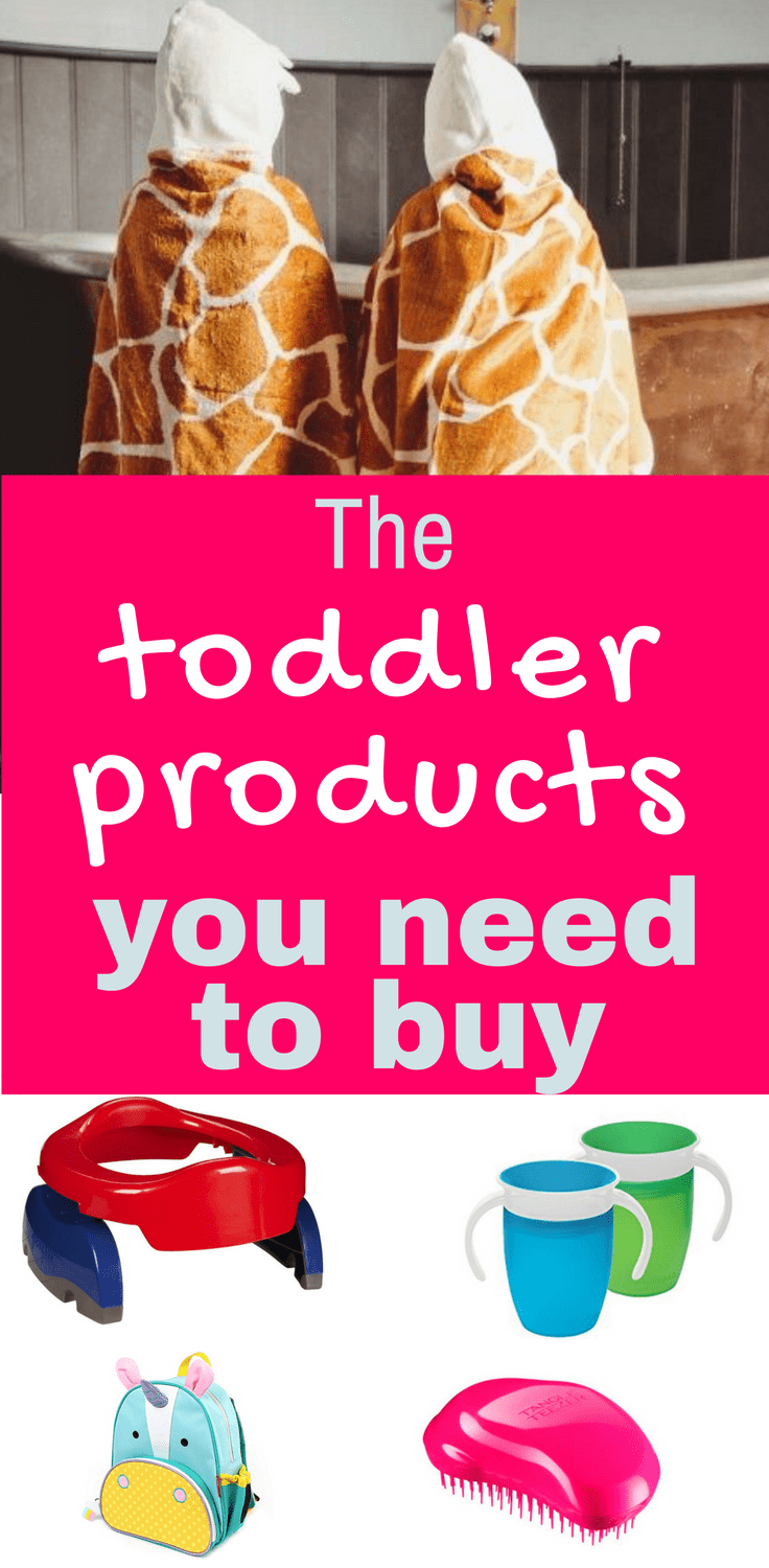 Toddler products you actually need