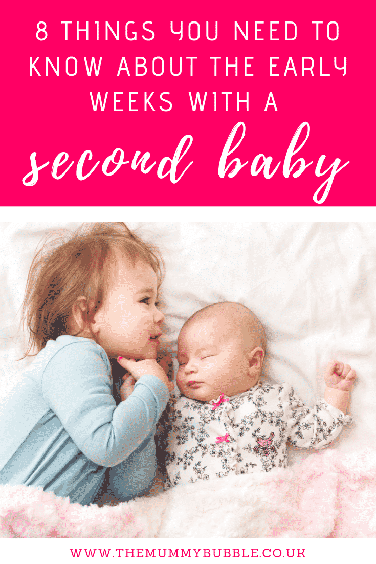 8 things you need to know about the early weeks with a second baby