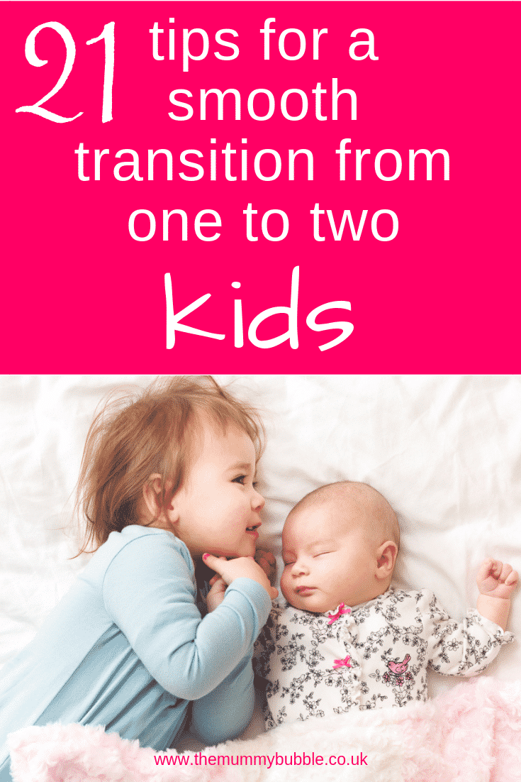 21 tips for going from one to two kids