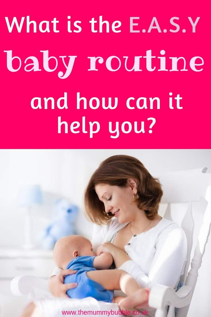 What is the EASY baby routine and how can it help your baby get more sleep