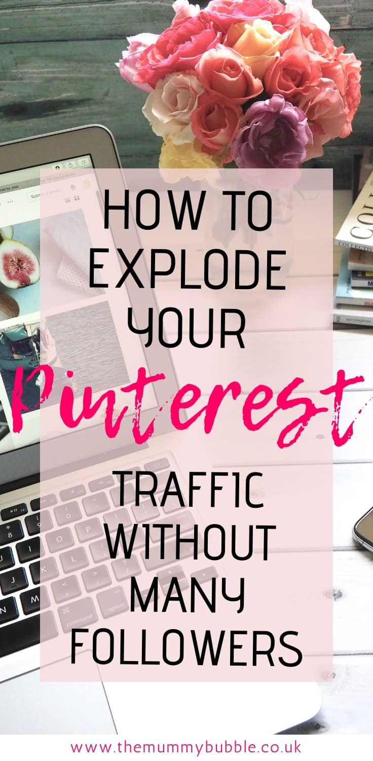 How to drive more traffic to your blog from Pinterest without many followers