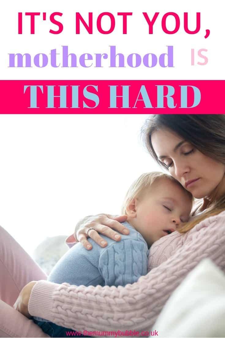 Motherhood is hard