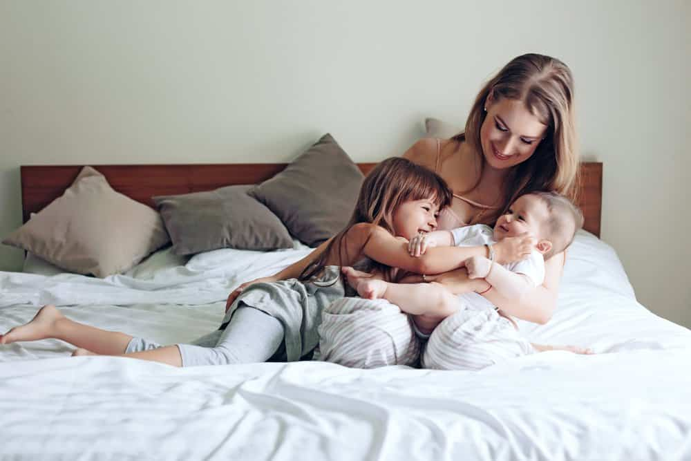 How to cope with a toddler when you're postpartum