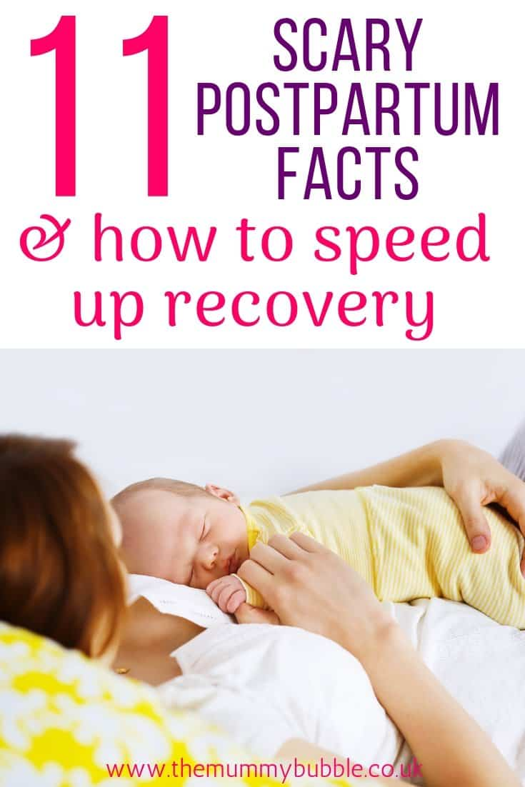 Scary postpartum facts and how to speed up your recovery after giving birth