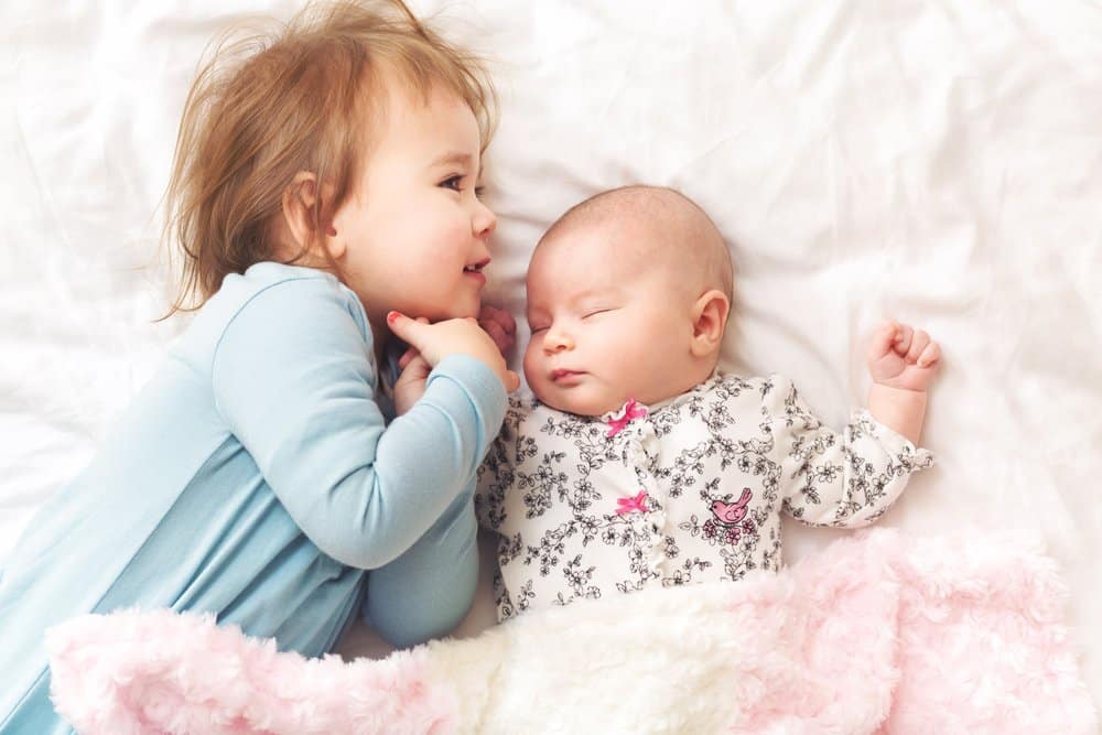 Tips for recovering from giving birth with a toddler