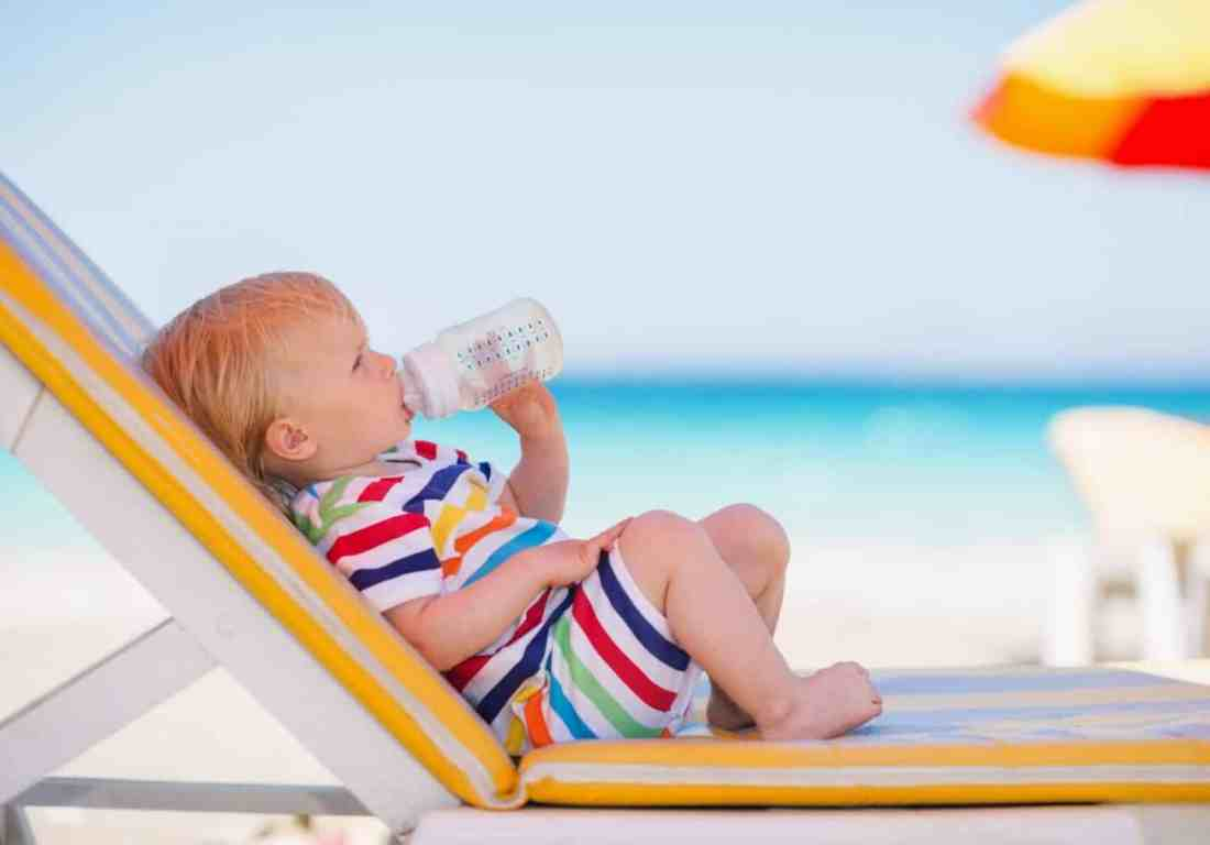 Tips for taking your baby on their first holiday abroad and how to cope with the travel