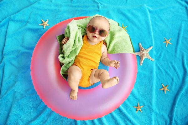 How to help baby sleep in heatwaves