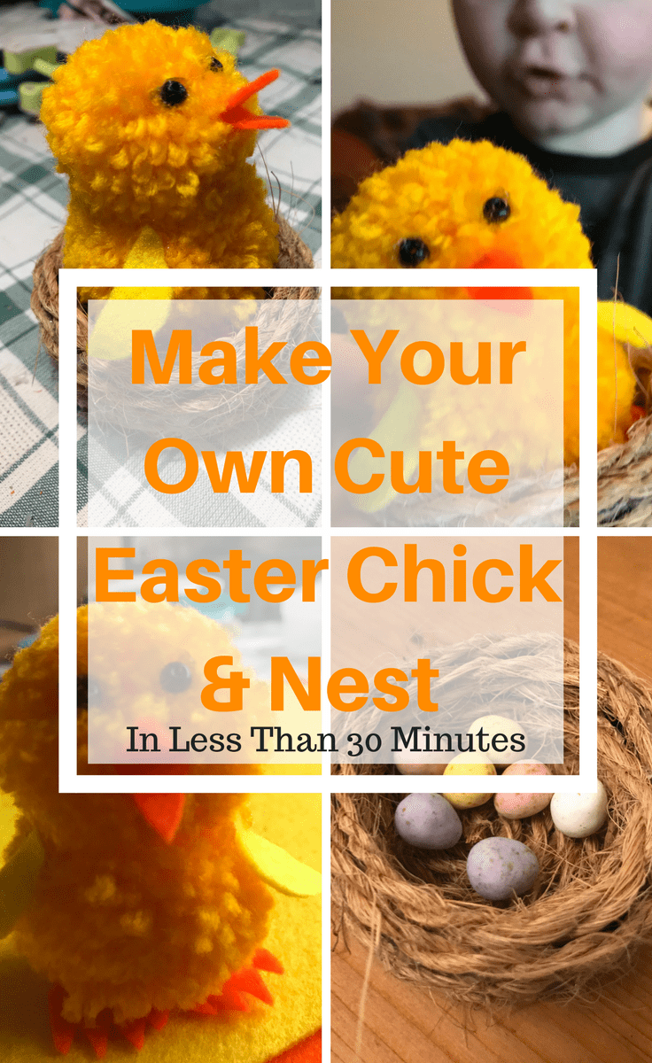 Make Your Own Cute Easter Chick & Nest | Simple Craft Ideas | Kids Activities