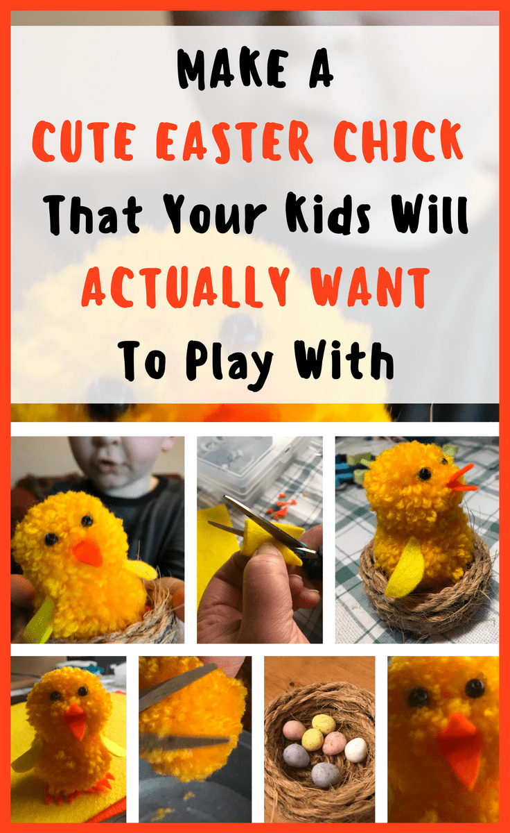 Make A Cute Easter Chick Your KIds Will Love To Play With | Easy Craft Ideas