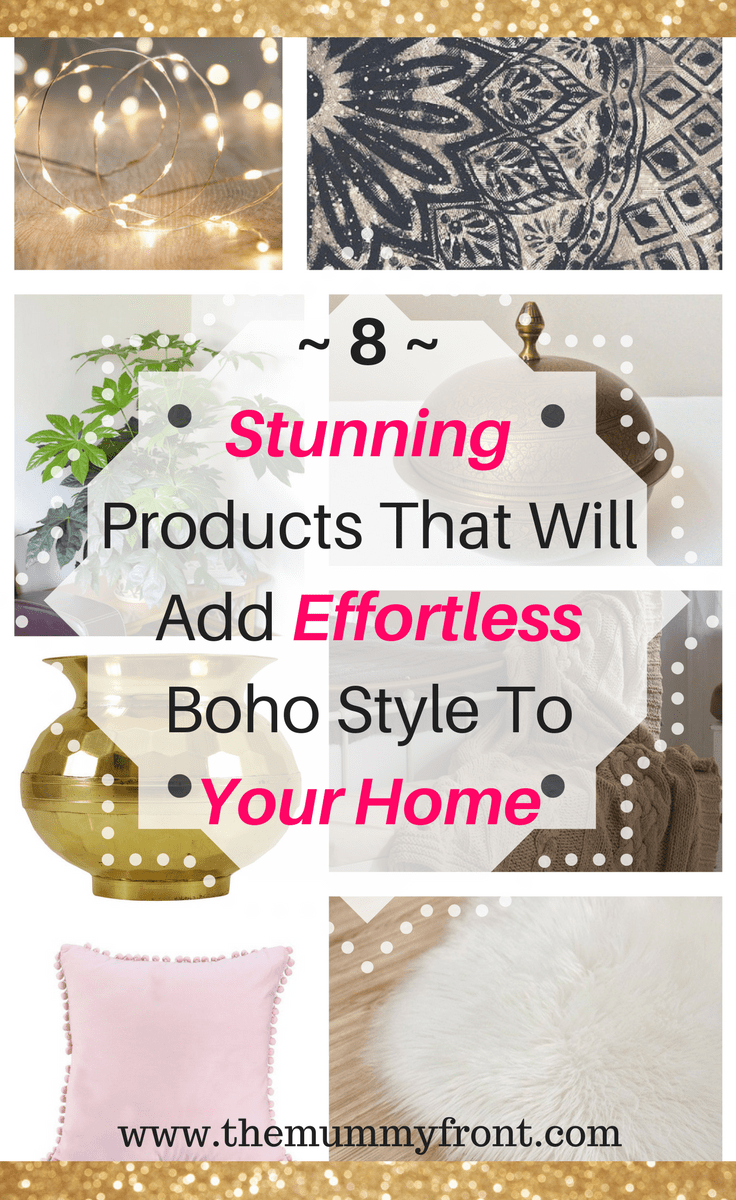 8 Stunning products that will add effortless boho style to your home