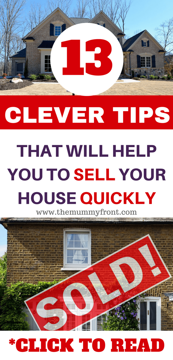 13 clever tips that will help to sell your house quickly, add value to home