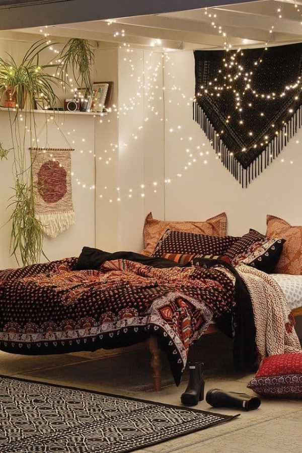 Bohemian Style Bedroom | Boho inspired home decor