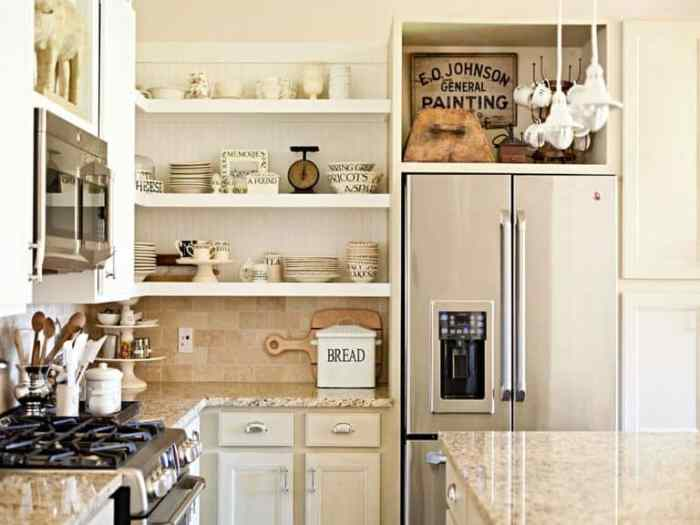 open shelves, storage solutions, increase home value