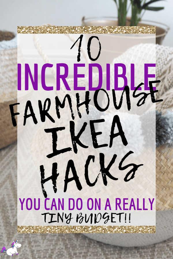 10 Incredible Farmhouse Style Ikea Hacks You Can Do On A Really Tiny Budget #farmhousestyle #farmhouse #ikeahacks #diyhomedecor #homedecoronabudget via: https://themummyfront.com #themummyfront home decor on a budget