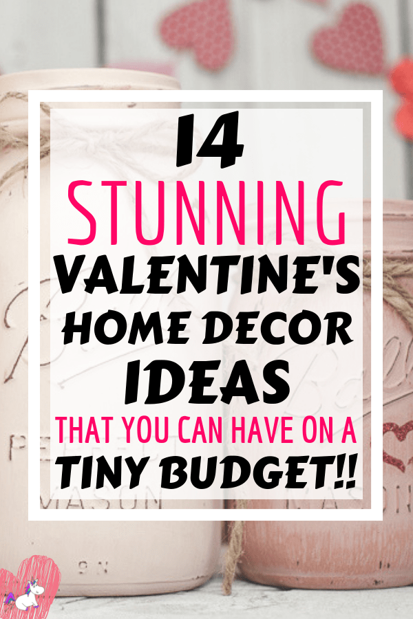 14 Stunning Valentine's Day Decoration Ideas you Will Seriously Fall In Love With This Year! #valentinesdaydecorationideas #valentines #valentinesdaycrafts #valentinesdecor #themummyfront Via: https://themummyfront.com   cute decor   home decor on a budget   Valentines decor for the home   Valentine projects for the home