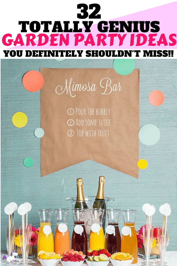 32 Totally Genius Garden Party Ideas You Really Shouldn't Miss #summer #summerfun #gardenparty #partyideas #partyplanning #bbqparty