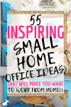 55 Small Home Office Ideas That Will Make You Want To Work Overtime