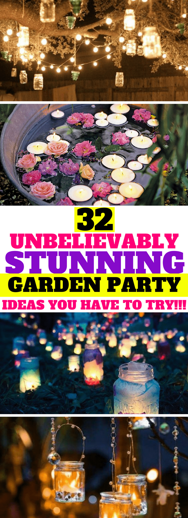 32 stunning summer party ideas you need to try #gardenparty #outdoorparty #bbq