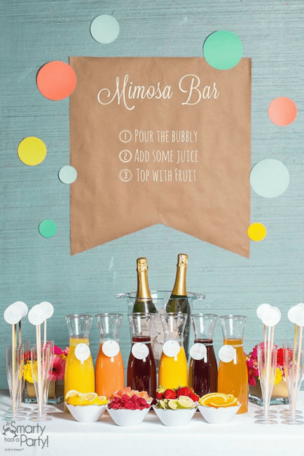 32 Stunning Summer Party Ideas You Need To Try Right Now #mimosabar #partydrinkideas #partyfoodanddrinkideas