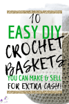 10 Easy Crochet Basket Patterns From Etsy That You Can Make & Sell