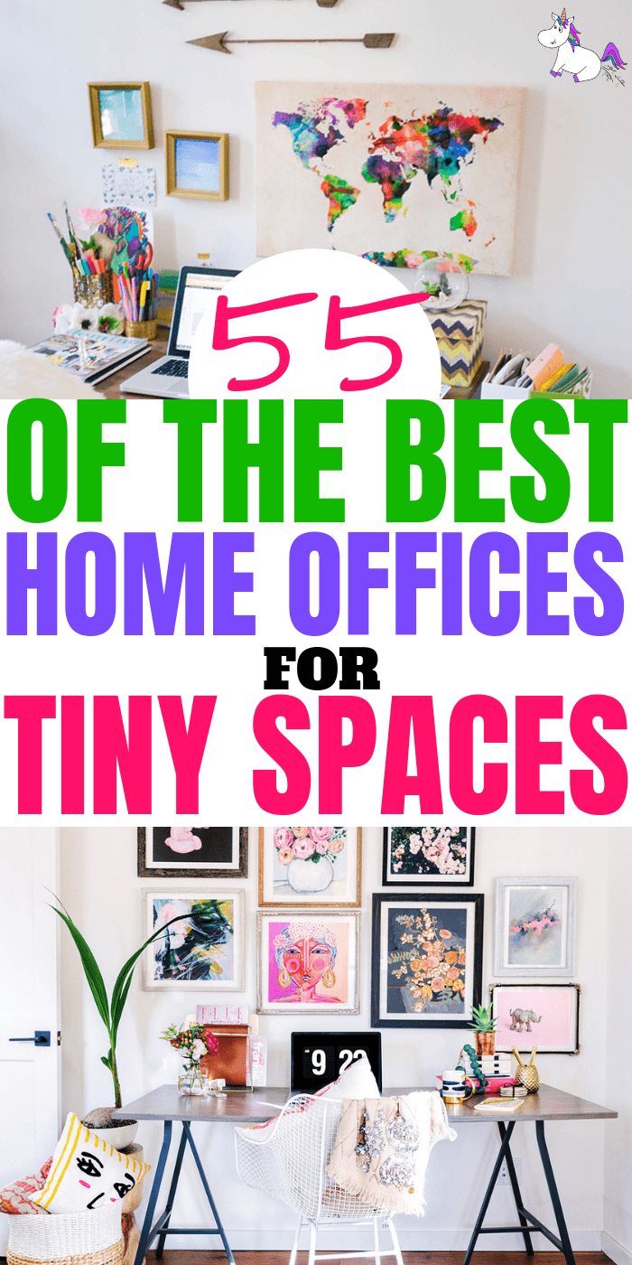 55 of The Best Home Office Ideas For Small Spaces