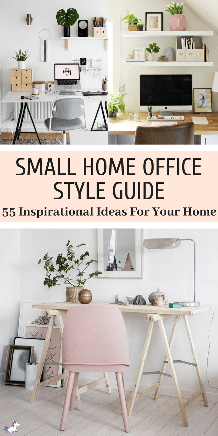 55 Small Home Office Ideas That Will Make You Want To Work Overtime ...