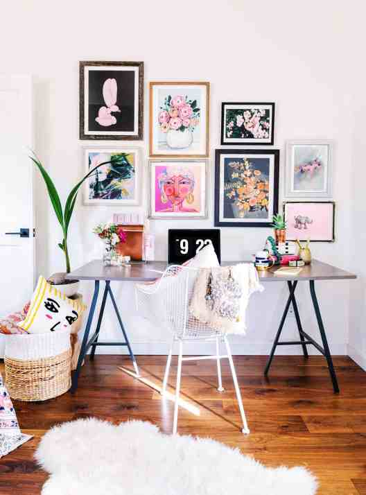 Small Home Office Ideas That Will Make You Want to Work Overtime #bohostyle #deskstyle