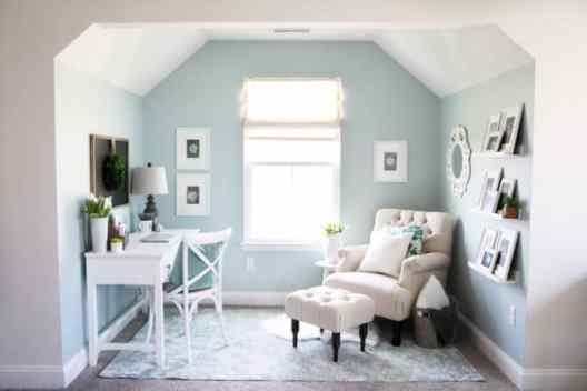 Small Home Office Ideas That Will Make You Want To Work Overtime, #cozyofficenook with pretty #deskdecoridea