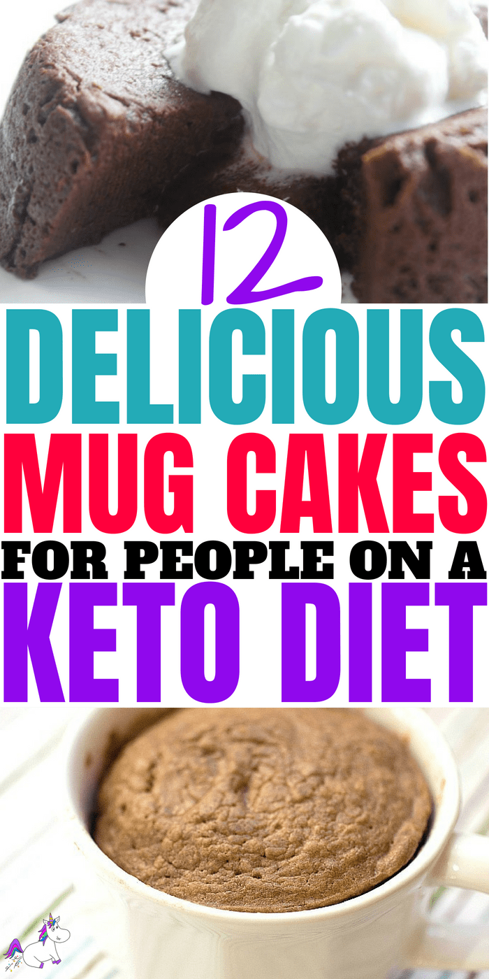 12 Delicious Mug Cakes That Are Perfect For People on a Keto Diet, Low-Carb Cakes You Can Make In Less Than a Minute If You Are Following A Low Sugar or Sugar Free Diet