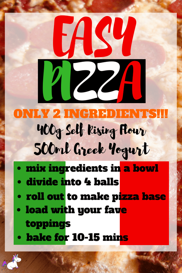 Homemade Pizza Recipe | With Foolproof 2 Ingredient Pizza Dough! #2ingredientrecipe #pizzadough #homemadepizzarecipe #bestpizzadough
