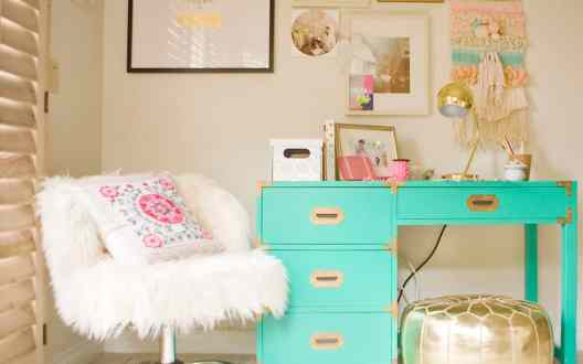 Small Home Office Ideas That Will Make You Want to Work Overtime #cozyofficenook #smallhomeofficeinspiration #officedesk