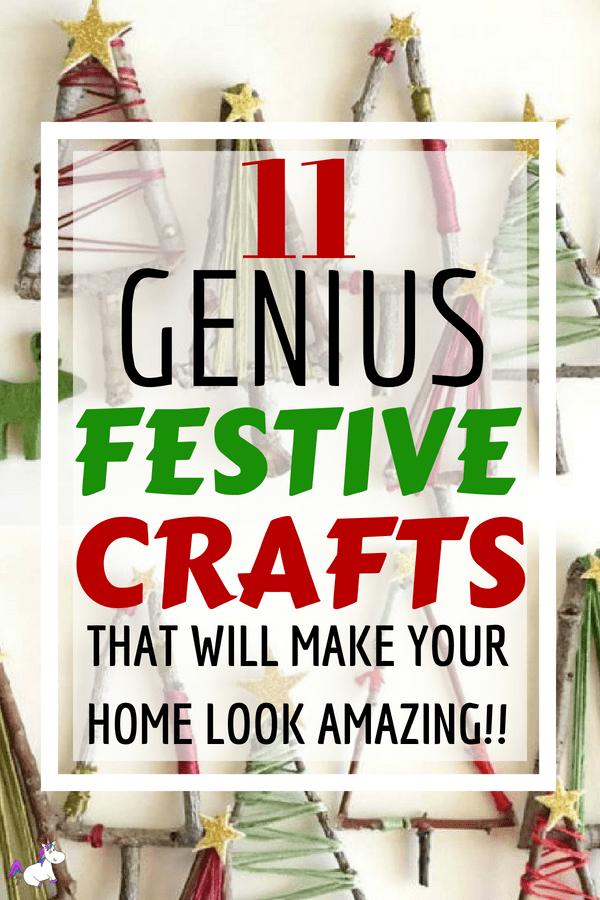 11 Genius Festive Crafts That Will Make Your Home Look Amazing #christmas #festiveideas #christmasideas #christmascrafts #noel #xmascrafts #easychristmascrafts #christmasdecorations #diychristmasdecorations
