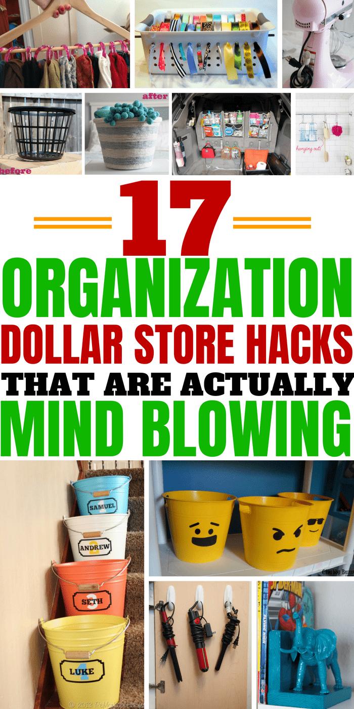17 Genius Dollar Store Hacks That You Really Shouldnt Miss #dollarstorhacks #lifehacks #organizationhacks #moneysavingideas #homedecor