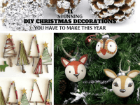 DIY Christmas Decorations | 11 Stunning Crafts You Have To Make This Year