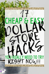 17 Cheap & Easy Dollar Store Hacks That Are Actually Genius