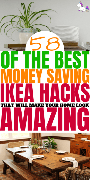 58 (and counting) Of The Best Money Saving IKEA Hacks That Will Make Your Home Look Amazing #ikea #ikeahacks #homedecor #diyhomedecor #homedecoronabudget
