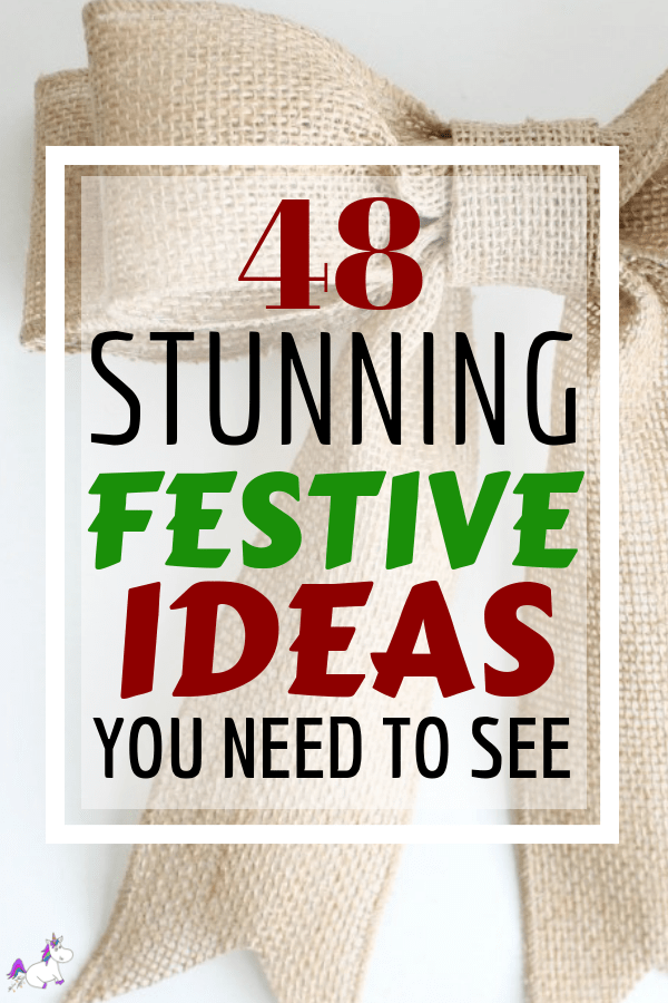 48 Stunning Handmade Christmas Ideas To Make Your Home Look Festive | DIY Christmas | Holiday Crafts | Christmas Ideas | Via: https://themummyfront.com | Festive Crafts | Gift Wrapping Ideas #christmascrafts #diychristmas #christmasonabudget #festivecrafts #themummyfront #holidaycrafts #christmasdecor