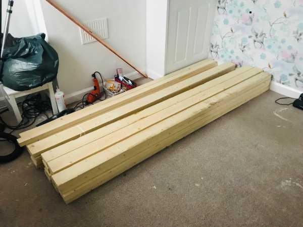 diy bed timber for bedroom makeover