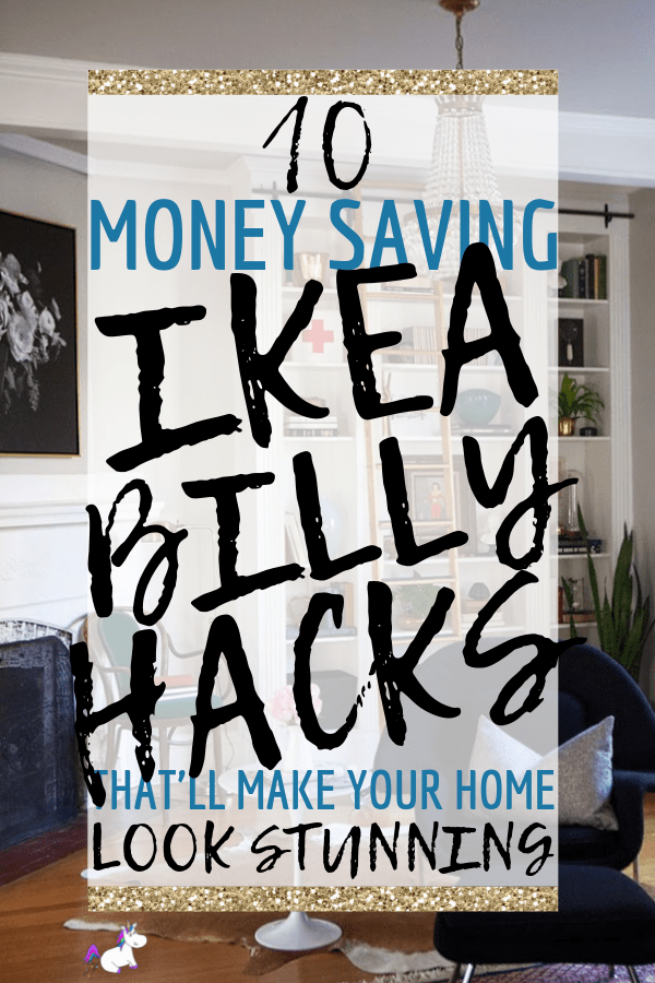 10 Best Money Saving ikea Billy Hacks That Will Make Your Home Look Stunning! these Ikea hacks will give you all the home decor inspiration you need to transform your home on a budget! #ikeabillyhacks #ikeahacks #homedecoronabudget #lifehackseverygirlshouldknow