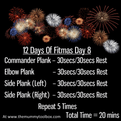 The 12 Days of Fitmas - Day 8