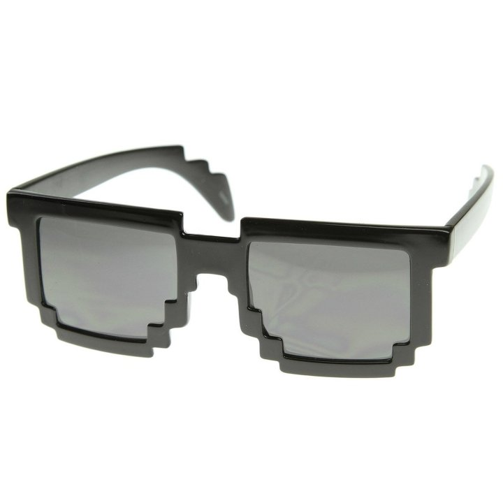 pixel glasses - geeky gift guide