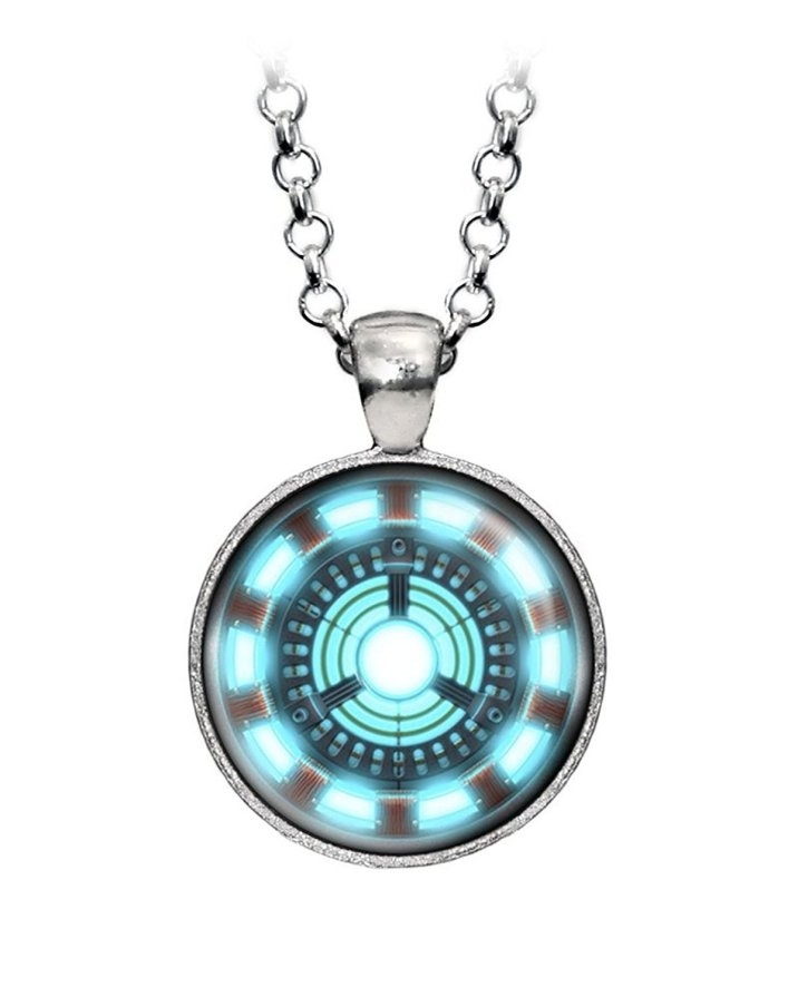 iron man necklace geeky gift guide