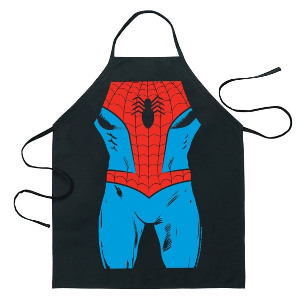 spiderman apron geeky gift guide