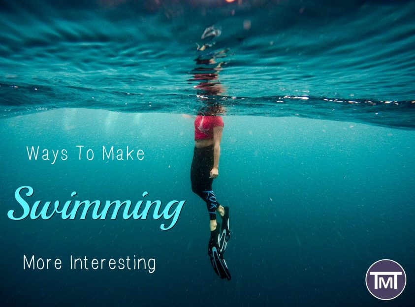 ways to make swimming more interesting feature image - The Mummy Toolbox