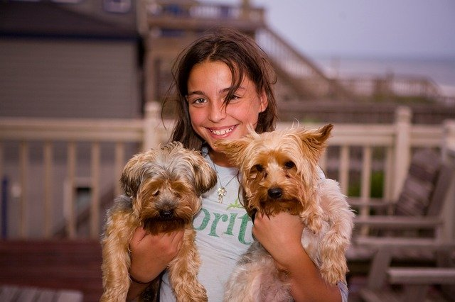 Empathy, how pets educate children